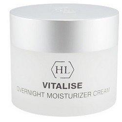 Крем смягчающий, питательный, 50 мл Holy Land Vitalise overnight moisturizer creamКремы для лица, рук и глаз<br>Витаминный комплекс питает кожу, смягчает и помогает отшелушивать отмершие клетки кожи<br>