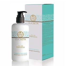 Barex Olioseta Oro del Marocco Nourishing Shampoo - Питательный бессульфатный шампунь с маслом арганы и маслом семян льна 250 млШампуни и бальзамы для волос<br>Облегчает расчесывание волос, увеличивает их плотность, защищает от воздействий среды. Волосы сильные, мягкие и блестящие.<br>