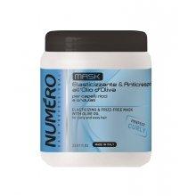 Маска Шампунь бессульфатный придающая упругость волосам с оливковым маслом Brelil Numero 2016 Elastisizing &amp; Frizz-Free Mask, 1000 мл - БрелилМаски для волос<br>С оливковым маслом для вьющихся и волнистых волос. Благодаря содержанию олеиновой кислоты и витамина Е оливковое масло обладает антиоксидантными свойствами, защищает от вредного воздействия свободных радикалов и предотвращает эффект старения.<br>