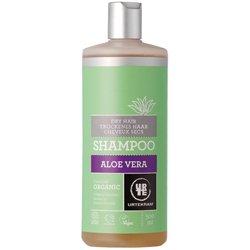 Шампунь бессульфатный  органический для сухих волос с запахом апельсина, глицерином и Алоэ Вера. Urtekram, 500 млШампуни и бальзамы для волос<br>Помогите своим волосам! Органический шампунь для сухих волос с алоэ вера, растительным глицерином и экстрактом сахарной свеклы питает и наполняет тусклые, безжизненные волосы влагой и новыми силами.<br>