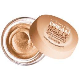 Maybelline New York  Тональный крем Dream Matte Mousse тон 020 Розово-бежевый - МейбелинТональный крем<br>Плотный тональный крем, который эффективно маскирует дефекты кожи средней сложности. Увлажняет кожу, питает в течение дня<br>
