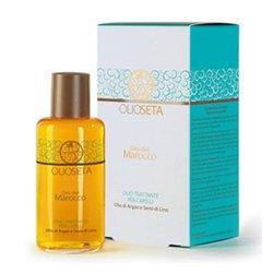 Barex Olioseta Oro del Marocco Oil Treatment for Hair - Масло-уход с маслом арганы и маслом семян льна 100 млМаски для волос<br>Придает силу и блеск тонким и светлым волосам. Восстанавливает структуру, уплотняет, облегчает расчесывание<br>