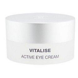 Крем для век увлажняющий, смягчающий, с гиалуроновой кислотой, 15 мл Holy Land Vitalise avtive eye creamКремы для лица, рук и глаз<br>Обладает регенерирующим свойством, помогая отслаивать отмершие клетки кожи<br>