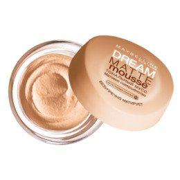Maybelline New York  Тональный крем Dream Matte Mousse тон 010 Светло-розовый опаловый - МейбелинТональный крем<br>Плотный тональный крем, который эффективно маскирует дефекты кожи средней сложности. Увлажняет кожу, питает в течение дня<br>