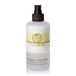 Barex Olioseta Silk and Linseed Instant Conditioner - Спрей-бальзам с протеинами шелка и семенем льна 200 млМаски для волос<br>Облегчает расчесывание волос, оживляет тонкие безжизненные волосы. Смягчает, делает их мягкими и шелковистыми. Подходят для окрашенных волос<br>