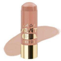 Хайлайтер-стик - L.A. Girl Velvet Contour Stick hilite LuminousКорректоры формы лица<br>Придает коже нужный оттенок и одновременно корректирует форму лица, контурируя ее. Используйте поверх основы для макияжа или тонального крема<br>