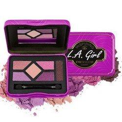 Палетка теней - L.A. Girl Inspiring Eyeshadow Palette Get Glam &amp; Get GoingТени для век<br>Пять идеально подобранных оттенков помогут создать целостный образ. Тени высокопигментированы, экономно расходуются<br>