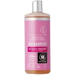 Шампунь бессульфатный  органический укрепляющий для нормальных волос Северная береза. Urtekram, 500 млШампуни и бальзамы для волос<br>Органический шампунь для нормальных волос заботливо ухаживает за вашими волосами и дарит вам нежный аромат березовой рощи и цветущих васильков.<br>
