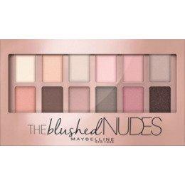 Maybelline New York  Палетка теней 01 Blushed Nudes - МейбелинТени для век<br>Палетка теней на каждый день теплых оттенков для типов внешности средней контрастности.<br>