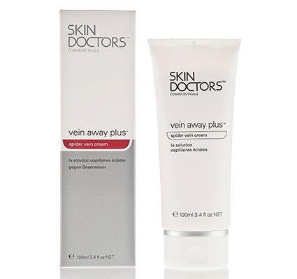 Skin Doctors Vein Away Plus, крем для тела корректирующий против венозных звездочек и шрамов, 100 гр. - Скин ДокторсКремы для тела и ног<br>Эффективно борется с проявлениями сосудистых звездочек. Укрепляет тургор кожи, увлажняет и питает, а также уменьшает видимость послеоперационных рубцов.<br>