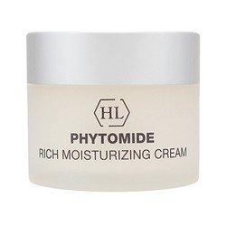 Увлажняющий крем 50 мл Holy Land Phytomide Rich Moisturizing Cream Spf 12Кремы для лица, рук и глаз<br>Восстанавливает тонус кожи, укрепляет контур, увлажняет, защищает от окружающей среды<br>