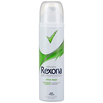 Rexona Антиперспирант аэрозоль женский Алоэ вера 150мл - РексонаДезодоранты и парфюмерия<br>Антиперспирант обеспечивает эффективную защиту от пота и запаха в течении 48 часов.<br>