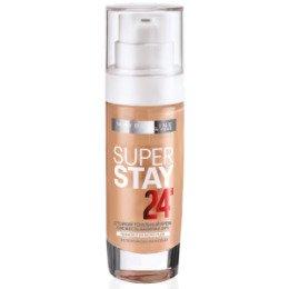 Maybelline New York  Тональный крем Super Stay 24H тон 31 персиковый-бежевый - МейбелинТональный крем<br>Легкий и одновременно плотный тональный крем, который преображает кожу и надежно маскирует дефекты, увлажняя и питая ее<br>