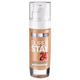Maybelline New York  Тональный крем Super Stay 24H тон 30 золотисто-бежевый - МейбелинТональный крем<br>Легкий и одновременно плотный тональный крем, который преображает кожу и надежно маскирует дефекты, увлажняя и питая ее<br>