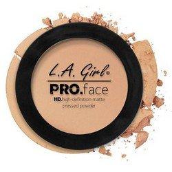 Матирующая пудра для лица - L.A. Girl Pro Face Matte Pressed Powder BuffРумяна и пудра<br>Очень тонкая почти незаметная на лице пудра надежно матирует кожу, содержит питательные вещества, увеличивает стойкость макияжа<br>