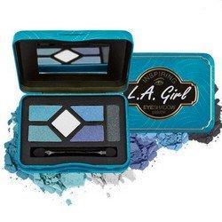Палетка теней - L.A. Girl Inspiring Eyeshadow Palette Fabulous&amp;FearlessТени для век<br>Пять идеально подобранных оттенков помогут создать целостный образ. Тени высокопигментированы, экономно расходуются<br>