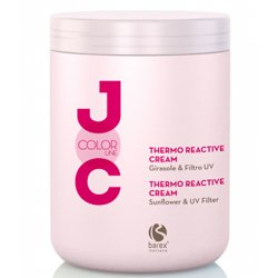 Barex Italiana Joc Color Thermo Reactive Cream - Крем термозащитный, 1000 млМаски для волос<br>Действует при нагреве, защищая окрашенные волосы и придавая им восхительный блеск и яркость, смягчает<br>