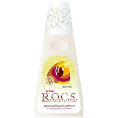 Рокс Ополаскиватель для полости рта Cool Mix Кола и лимон 400 мл - R.O.C.S.Гигиена полости рта<br>Ополаскиватель для полости рта Рокс cool mix изготовлен на основе натуральных компонентов и предназначен для полоскания рта после чистки зубов.<br>