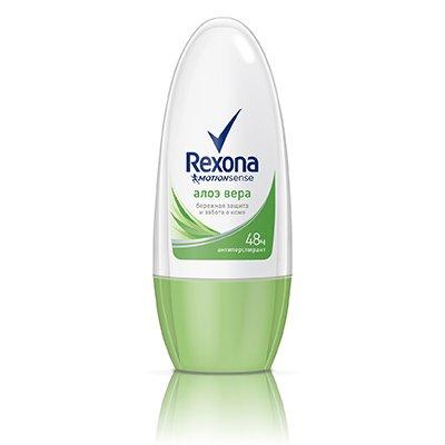 Rexona Антиперспирант део-ролик женский Алоэ Вера 50мл - РексонаДезодоранты и парфюмерия<br>Контролирует потоотделение и защищает от запаха пота 24 часа.<br>