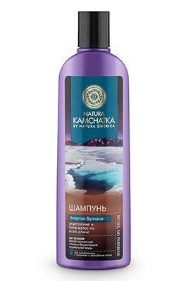 Шампунь Natura Siberica Энергия вулкана - Натура СиберикаШампуни и бальзамы для волос<br>Укрепление и сила волос по всей длине. На основе белой камчатской глины и биоактивной термальной воды.<br>