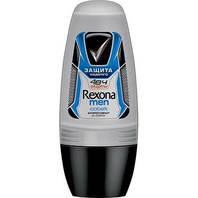Rexona Антиперспирант део-ролик мужской Кобальт 50мл - Рексона MENПарфюмерия и дезодоранты<br>Активизируется, когда необходимо. Контролирует потоотделение и защищает от запаха пота 48 часов.<br>