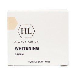 Отбеливающий крем 30 мл Holy Land Whitening CreamКремы для лица, рук и глаз<br>Эффективно осветляет пятна любого происхождения: пигмент, веснушки, рубцы. Питает и увлажняет кожу, выравнивает тон<br>