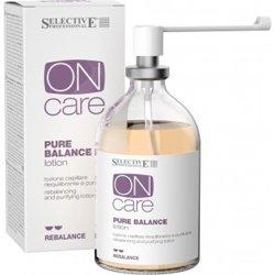 Лосьон балансирующий, для раздраженной или жирной кожи головы, 100 мл - Selective On Care Rebalance Pure Balance lotion - СелективМаски для волос<br>Мгновенно успокаивает и защищает раздраженную кожу, уменьшает чрезмерное выделение кожного сала<br>