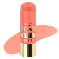 Румяна-стик - L.A. Girl Velvet Contour Stick blush SnuggleРумяна и пудра<br>Придает коже нужный оттенок и одновременно корректирует форму лица, контурируя ее. Используйте поверх основы для макияжа или тонального крема<br>