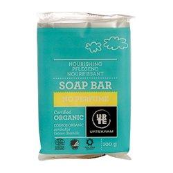Бессульфатное мыло гипоалергенное без аромата с глицерином. Urtekram, 100 гМыло и гели для душа<br>Органическое органическое мыло без аромата для людей, склонных к аллергическим реакциям.<br>