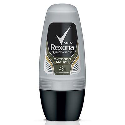 Rexona Антиперспирант део-ролик мужской Футболомания 50мл - Рексона MENПарфюмерия и дезодоранты<br>Дезодорант для активных мужчин оснащен системой мощной защиты, которая предоставляет чистоту, свежесть и твердую защиту от запаха пота в течение насыщенного дня.<br>