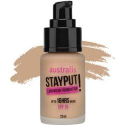 Тональное средство, 23 мл - Australis Stayput Fdn Natural BeigeТональный крем<br>Для смуглой бронзовой кожи.  Почти незаметен, придает коже легкое сияние, эффективно маскирует недостатки<br>