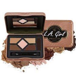 Палетка теней - L.A. Girl Inspiring Eyeshadow Palette Naturally BeautifulТени для век<br>Пять идеально подобранных оттенков помогут создать целостный образ. Тени высокопигментированы, экономно расходуются<br>