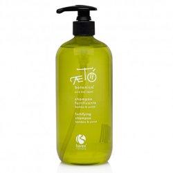 Barex Aeto Fortifying Shampoo Bamboo &amp; Yucca - Шампунь бессульфатный укрепляющий с экстрактом бамбука и юкки 500 млШампуни и бальзамы для волос<br>Шампунь с аминокислотами и протеинами обогащает волосы, делая их шелковистыми и эластичными. Уменьшает ломкость до 47% после 4 процедур<br>