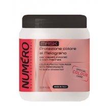 Маска для защиты цвета с экстрактом граната Brelil Numero 2016 Colour Protection Mask, 1000 мл - БрелилМаски для волос<br>С экстрактом граната для окрашенных волос. Семена граната богаты витамином С, витаминами группы В, высоким содержанием антиоксидантных полифенолов, что обеспечивает защиту блеска волос.<br>