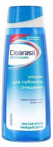 Лосьон Clearasil для глубокого очищения проблемной кожи 200 мл - КлерасилТоники и очищающие средства<br>Уникальная очищающая формула лосьона проникает глубоко в поры, удаляет загрязнения, жирный блеск, убивает бактерии.<br>