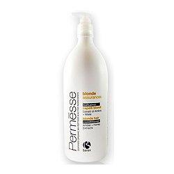 Barex Permesse Blonde Hair Conditioner with Amber and Honey extracts - Бальзам для осветленных волос с экстрактом янтаря и мёдом 1000 млШампуни и бальзамы для волос<br>Уход за обесцвеченными волосами. Предотвращает спутывание, придает здоровый и ухоженный вид, делает более прочными<br>