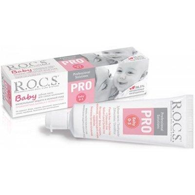 Рокс Зубная паста PRO.Baby Минеральная защита и нежный уход 45 гр - R.O.C.S.