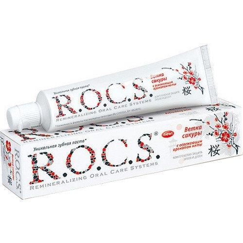 Рокс Зубная паста Ветка Сакуры 74 гр - R.O.C.S.