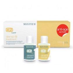 Двухкомпонентный филлер для восстановления волос 5+5 по 15 мл - Selective Professional Densi-fill Treatment - Селектив