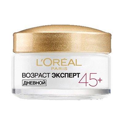Крем для лица Возраст эксперт 45 для всех типов кожи 50 мл - LOreal Paris  Dermo-Expertise - Лореаль