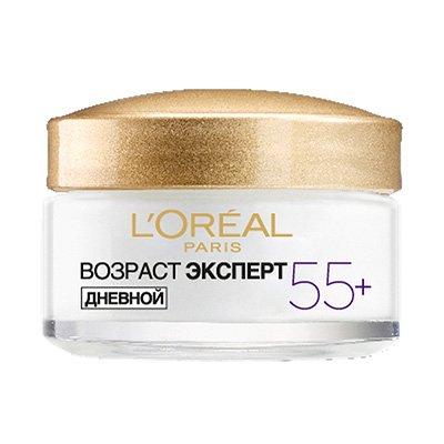Крем для лица Возраст эксперт 55 для всех типов кожи 50 мл - LOreal Paris  Dermo-Expertise - Лореаль