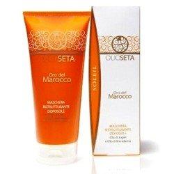 Barex Italiana Olioseta Oro Del Marocco After Sun Replenishing Mask - Маска восстанавливающая для волос после загара, 200 мл.