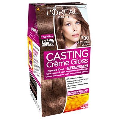 Крем-краска для волос тон 780 Ореховый мокко - L'Oreal Paris Casting Creme Gloss - Лореаль