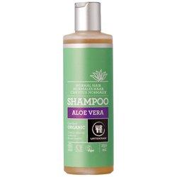 Шампунь бессульфатный  для нормальных волос увлажняющий с запахом апельсина и с Алоэ Вера. Urtekram, 250 мл
