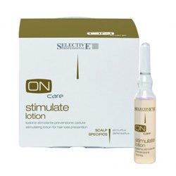 Стимулирующий лосьон от выпадения волос 12*6 мл - Selective On Care Scalp Specifics Stimulate Lotion - Селектив (Selective Professional)