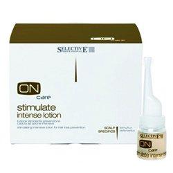 Интенсивный стимулирующий лосьон от выпадения волос 8*8 мл - Selective On Care Scalp Specifics Stimulate Intense Lotion - Селектив (Selective Professional)