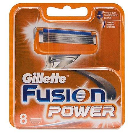 Gillette Fusion Power Сменные кассеты для бритья 8 шт