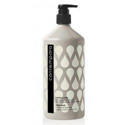 Barex Contempora Shampoo Volumizzante - Шампунь бессульфатный для придания объема с маслом облепихи и огуречным маслом, 1000 мл