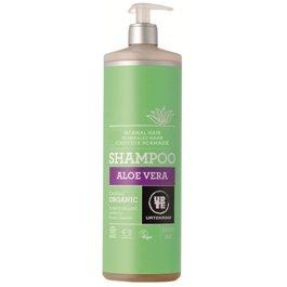 Шампунь бессульфатный  для нормальных волос увлажняющий с запахом апельсина и Алоэ Вера. Urtekram, 1 л