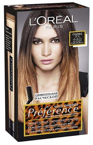 L'Oreal Paris Preference Ombres Краска для волос тон 01 40 мл - Лореаль Преферанс